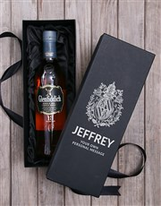 Personalised Glenfiddich Wine Box