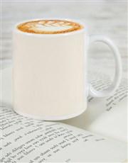 Personalised Retro Heartbeat Mug