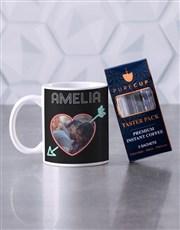 Personalised Neon Love Mug