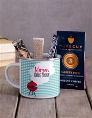 Personalised Love in the Air Camper Mug