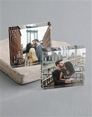 Personalised Never Forget You Acrylic Blocks
