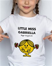 Personalised Miss Sunshine Kids T Shirt