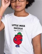 Personalised Scatterbrain Kids T Shirt