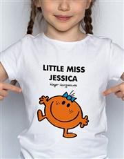 Personalised Miss Fun Kids T Shirt