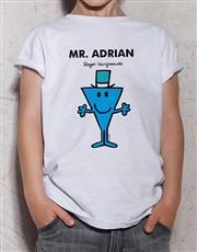 Personalised Mr Cool Kids T Shirt
