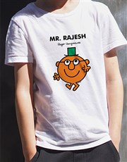 Personalised Mr Clever Kids T Shirt