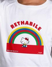 Personalised Hello Kitty Rainbow T Shirt