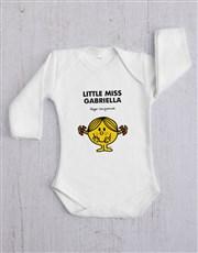 Personalised Little Miss Sunshine Onesie