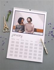 Personalised Us Wall Calendar