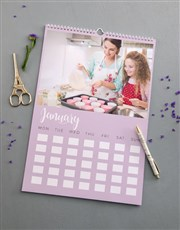 Personalised Mom Wall Calendar