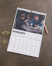 Personalised Opportunities Wall Calendar