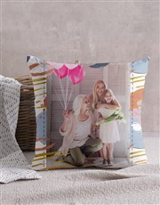 Personalised Pastel Patterned Scatter Cushion