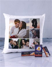 Personalised Special Moments Scatter Cushion