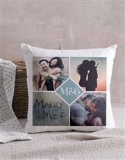 Personalised Love Initials Scatter Cushion