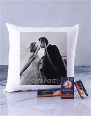 Personalised Photo Message Scatter Cushion