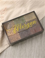 Personalised Name Herbal Soap Gift Box