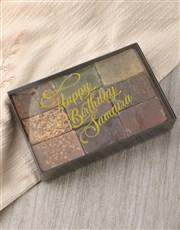 Personalised Birthday Herbal Soap Gift Box