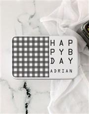 Personalised Happy Birthday Rooibos Bath Time Tin