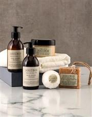 Personalised Minimalist Rooibos Bath Time Crate