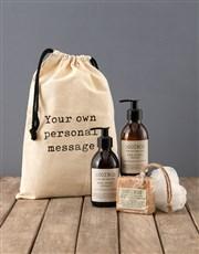 Personalised Typed Rooibos Bath Time Bag
