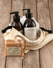 Personalised Vintage Rooibos Bath Time Bag