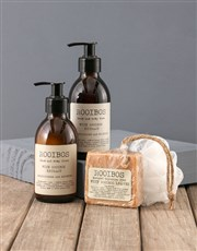 Personalised Gentleman Rooibos Bath Time Bag