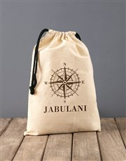 Personalised Compass Rooibos Bath Time Bag