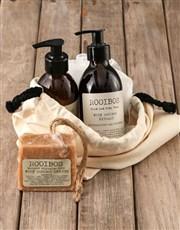 Personalised Boxer Rooibos Bath Time Bag