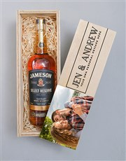 Personalised Photo Jameson Crate