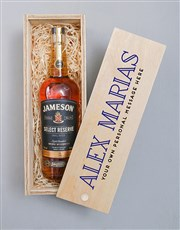 Personalised Traditional Jameson Crate
