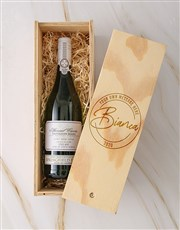 Personalised Stamp Springfield Sauv Blanc Crate
