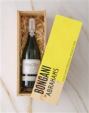 Personalised Modern Springfield Sauv Blanc Crate