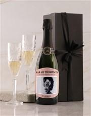 Personalised Pink Label Backsberg Wine