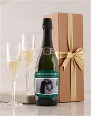 Personalised Emerald Label Backsberg Wine