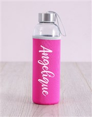 Personalised the Dream Racerback and Water Bottle