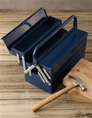 Personalised Hammer And Tool Box Gift