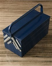 Personalised Message Hammer And Tool Box