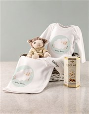 Personalised Sheep Baby Gift Set