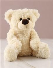 Personalised Teddy Bear Boy Banner Nappy Cake