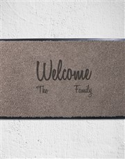 Let loved ones welcome people to their home in sty