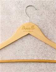 Personalised Bridesmaid Hanger