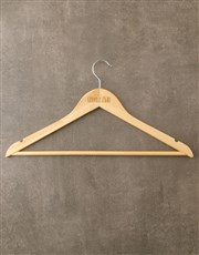 Personalised Groomsman Hanger