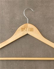 Personalised Best Man Hanger