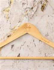 Personalised Name And Message Hanger