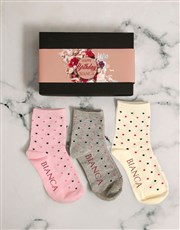 Personalised Birthday Sock Pack