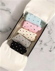 Personalised Geometric Sock Pack