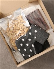 Personalised Fathers Day Sock Hamper