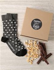 Personalised Best Dad Ever Sock Hamper