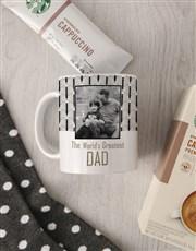 Personalised Greatest Dad Sock Hamper