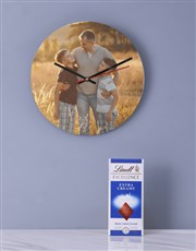 Personalised Picture Perfect Clock